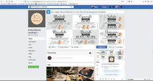schermata pagina ufficiale FB